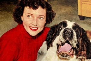 What is the best dog for you? Animal-loving actress Betty White gives her tips (1958)