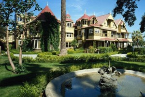 The bizarre Winchester Mystery House: From the haunted, mixed-up mind of Mrs William W Winchester