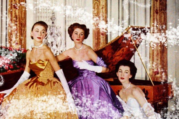 breathtakingly gorgeous vintage evening gowns