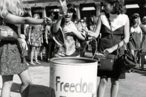 Bra burning in the 1960s: Was it really a common thing?