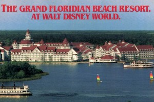 See the Grand Floridian Beach Resort when it first opened at Disney World