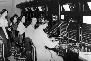 What was it like to be a telephone operator? Behind the scenes in the early switchboard days
