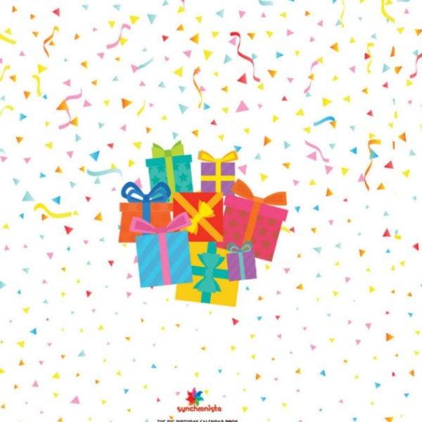 The Big Birthday Calendar Book