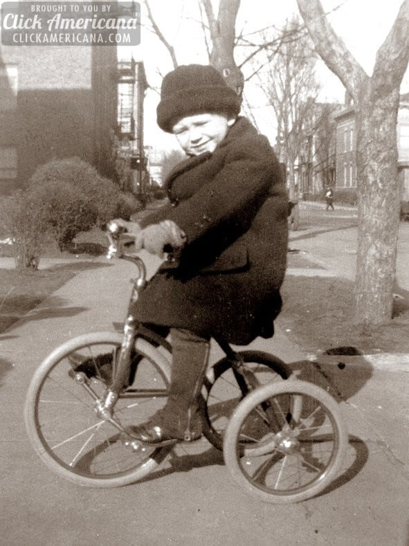 I want to ride my tricycle: 17 Vintage trike snapshots