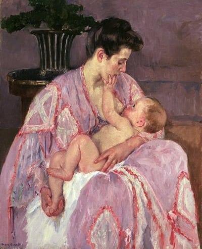 Benefits of breastfeeding your baby (1922)