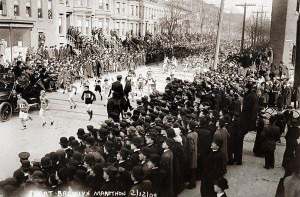 Marathon craze just a revival, say old-timers (1909)