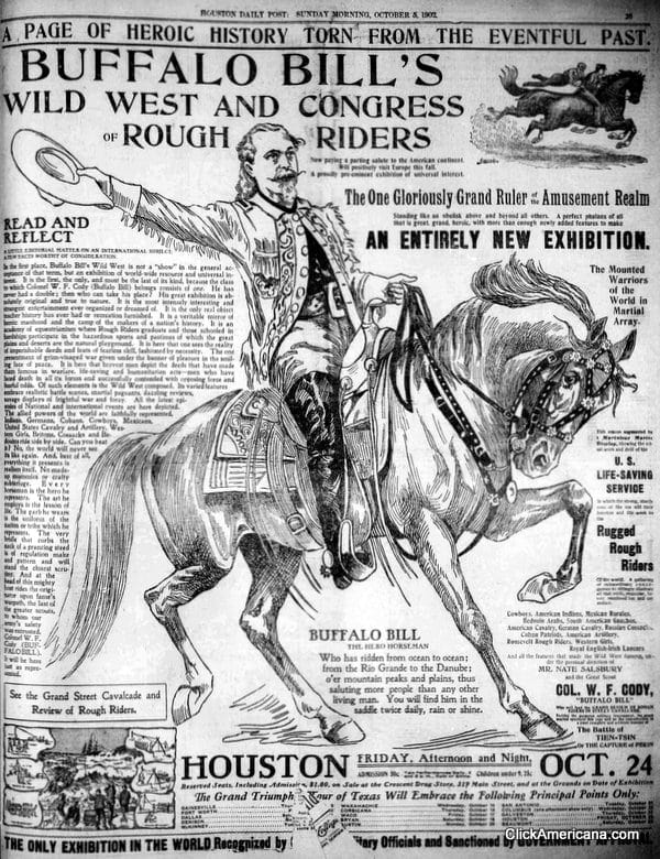 Buffalo Bill's Wild West & Rough Riders (1900-1908)