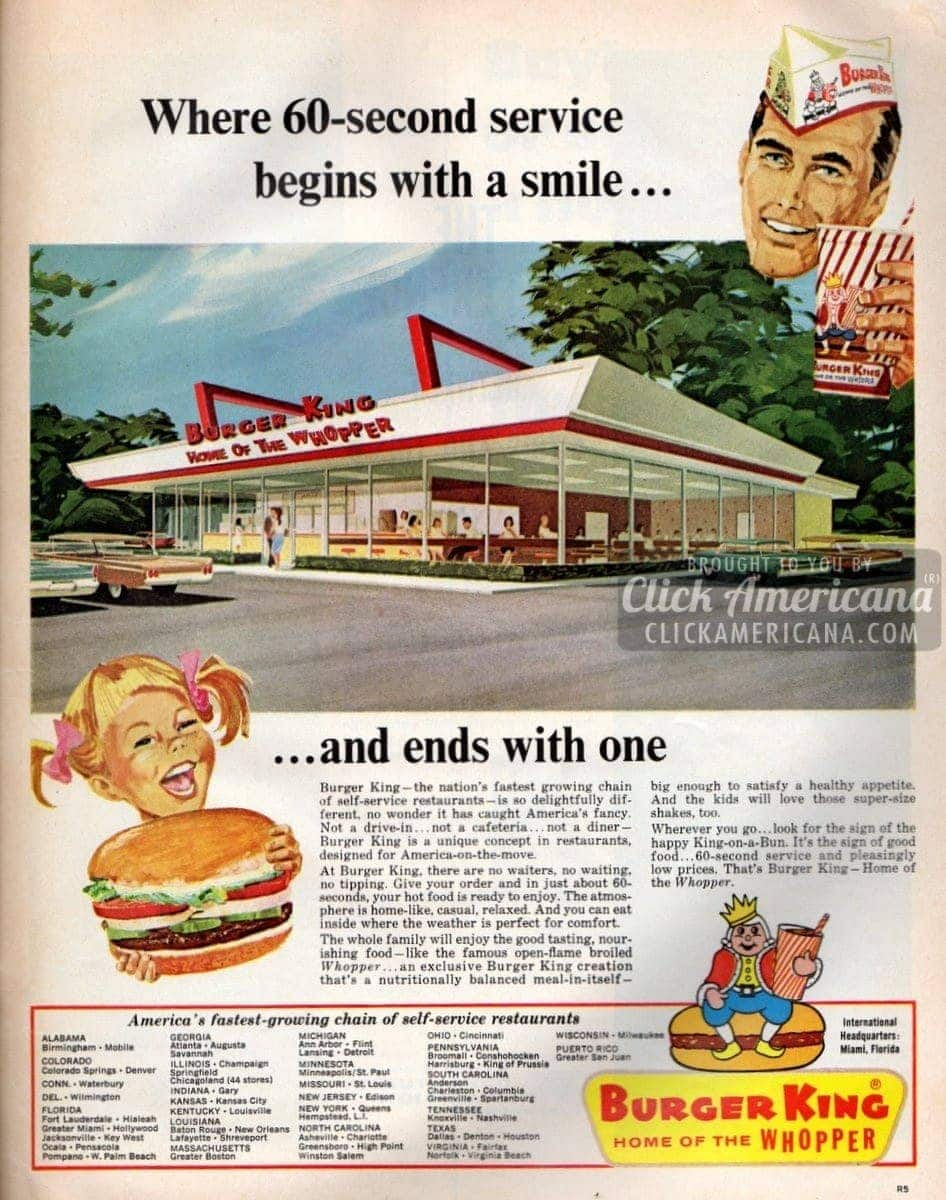Burger King: A unique concept, so delightfully different (1966)