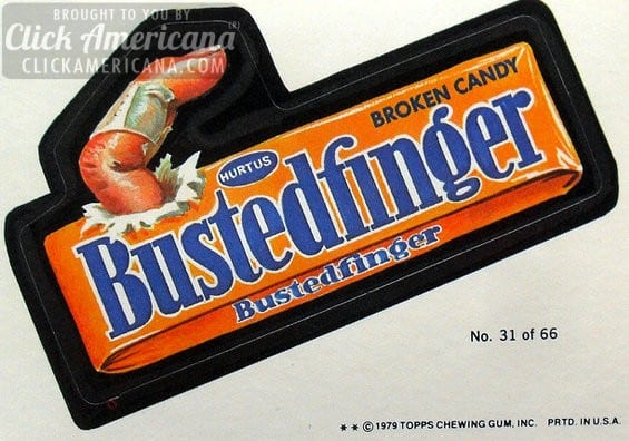 Vintage Wacky Packages: Candy (1970s)