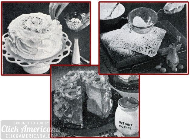 Triple play: Three terrific cake recipes (1964)
