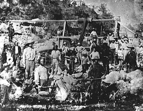 a history of the gold rush in california between 1840 and 1890 1840-1850: 1850-1860: 1860-1870: 1870-1880: 1880 selling a strip of land running along mexico's northern border between texas and california for $10 sparking the pikes peak gold rush which brings an estimated 100,000 fortune-hunters to the rockies under the banner pikes.