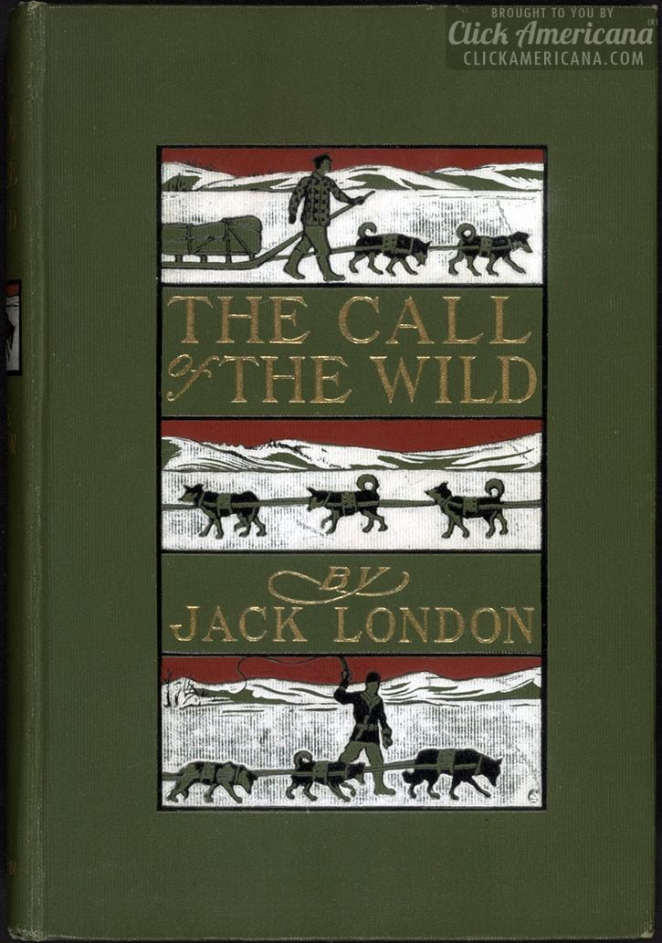 Antique Call of the Wild book cover