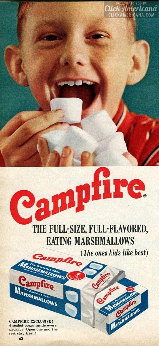 Vintage Campfire marshmallows