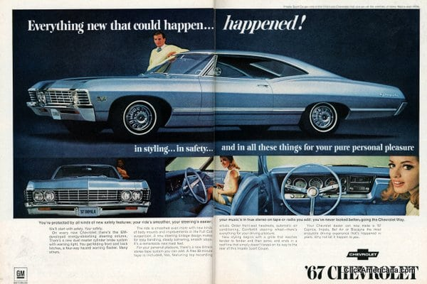 hot cars for 1967