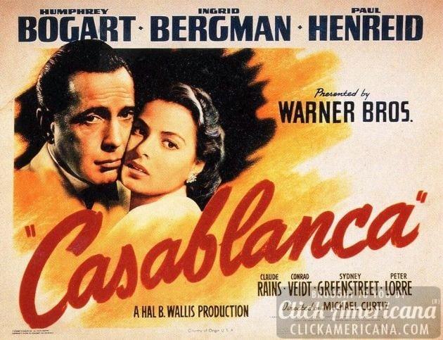 Bogart & Bergman are superb in Casablanca (1943)