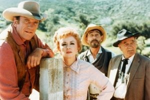 Cast of vintage Gunsmoke TV show