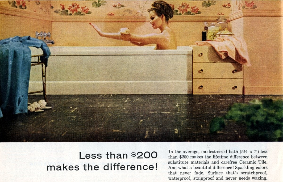 Tile for less than $200 makes the difference (1961)