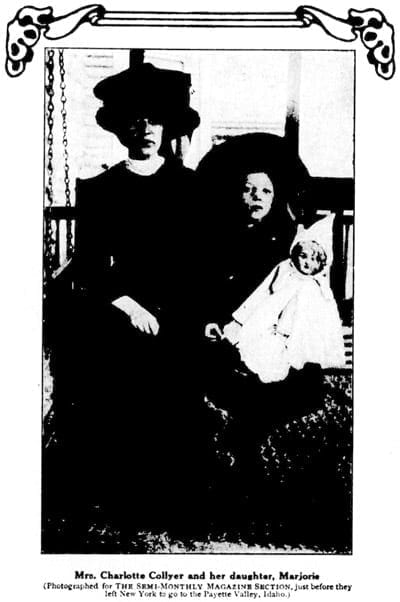 Follow-up: Titanic survivor Charlotte Collyer (1912)