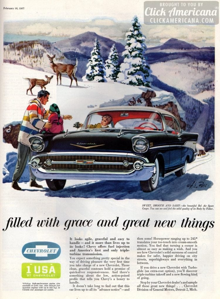 Sweet, smooth & sassy: Chevy's Bel Air Sport Coupe (1957)