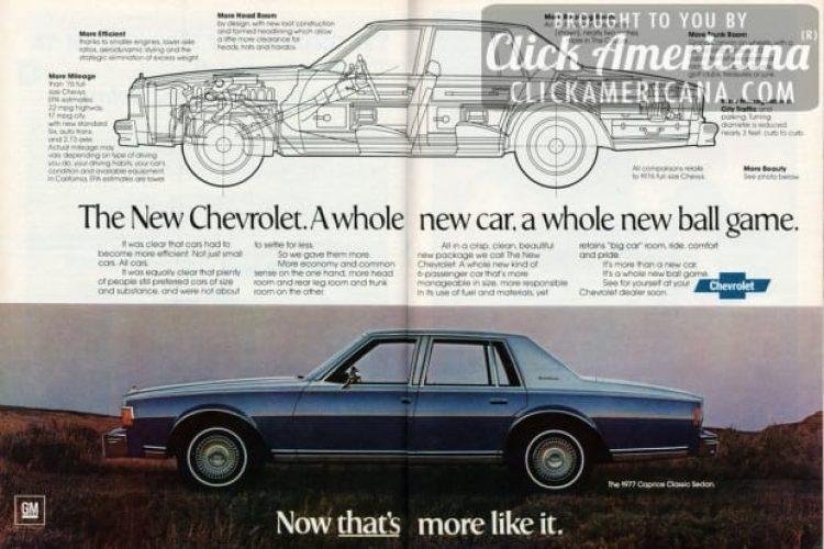 4ea6681ab 1977 Chevrolet Caprice Classic sedan - Click Americana