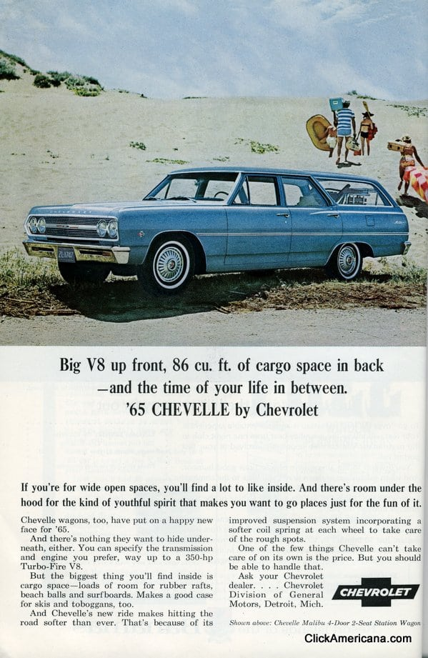 65 Chevy station wagons (1965) - Click Americana