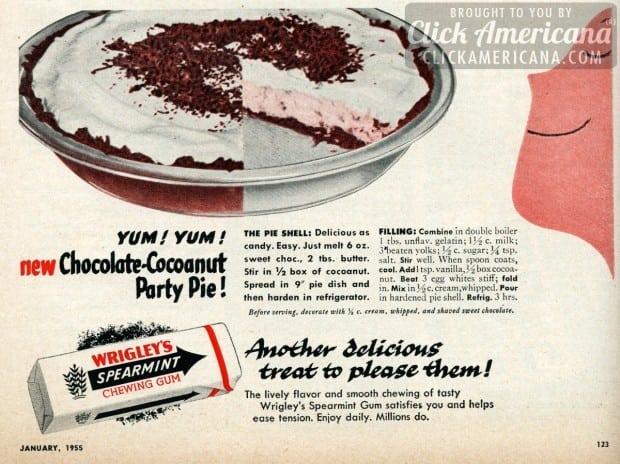 chocolate-coconut-party-pie-recipe-jan-1955