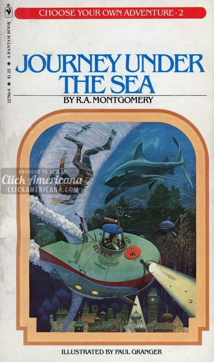 Choose your own Adventure book series #2: Journey Under the Sea (1979)