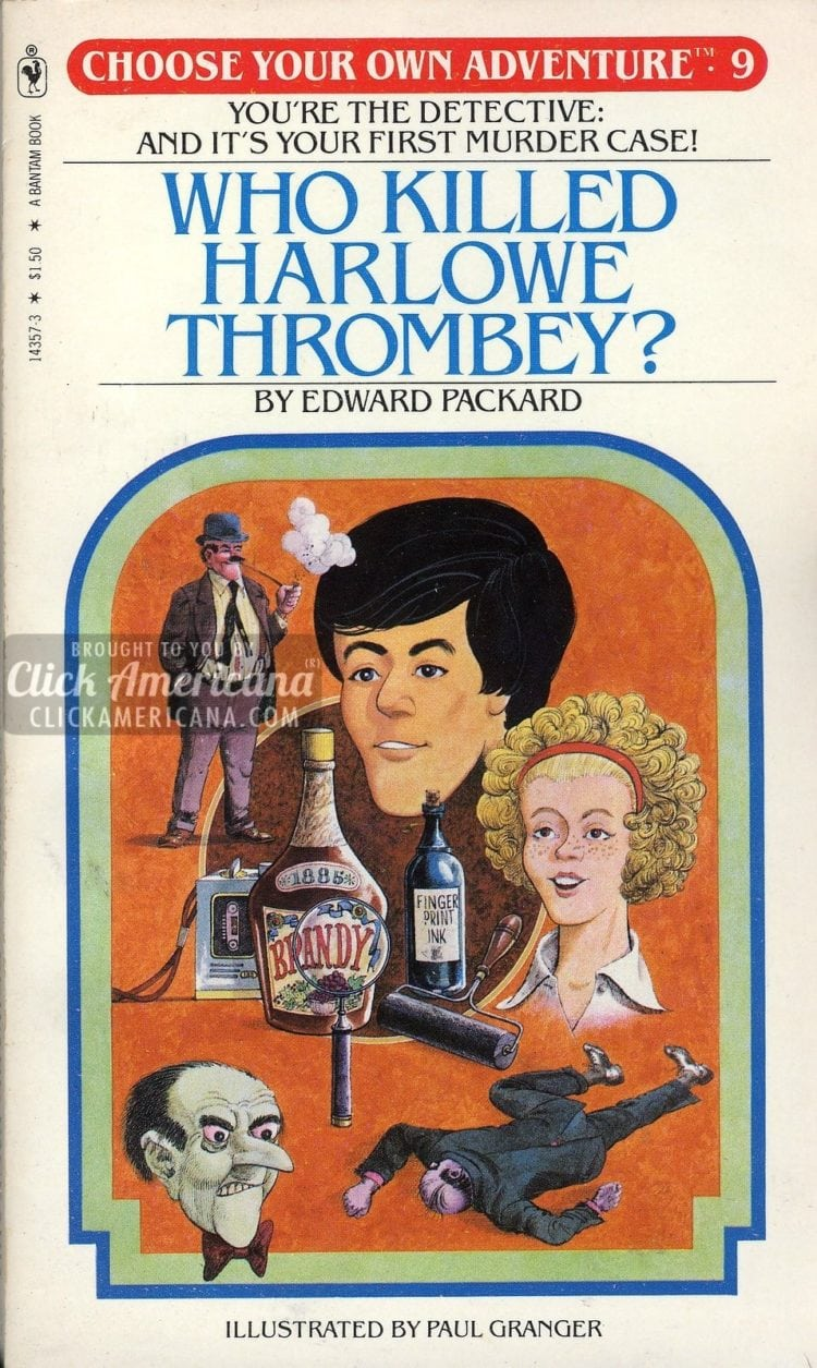 #9: Who Killed Harlowe Thrombey (1981)