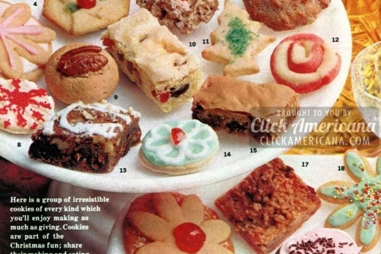 Christmas Cookies Pinterest.36 Christmas Cookie Recipes Children Will Love 1962