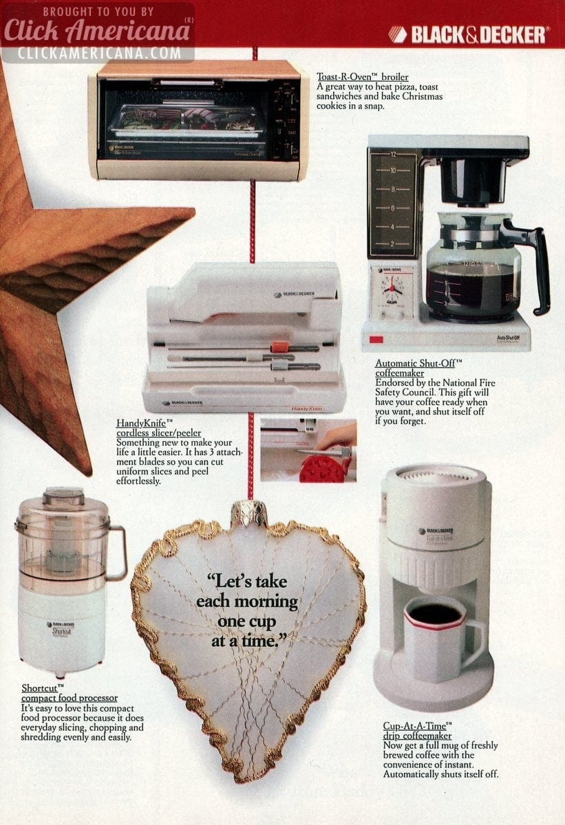 25 hottest Black & Decker Christmas gifts for 1987