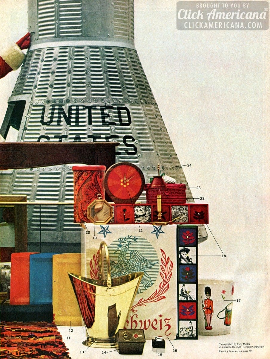 Creative Christmas Gifts For The Home 1964 Click Americana