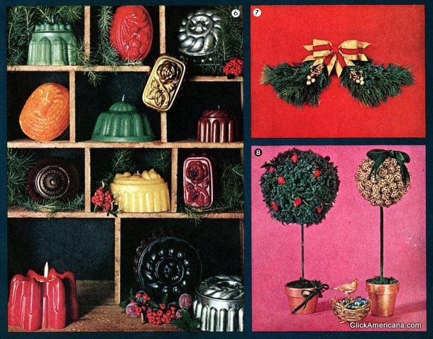 Do It Yourself Christmas Decorations 1964 Click Americana