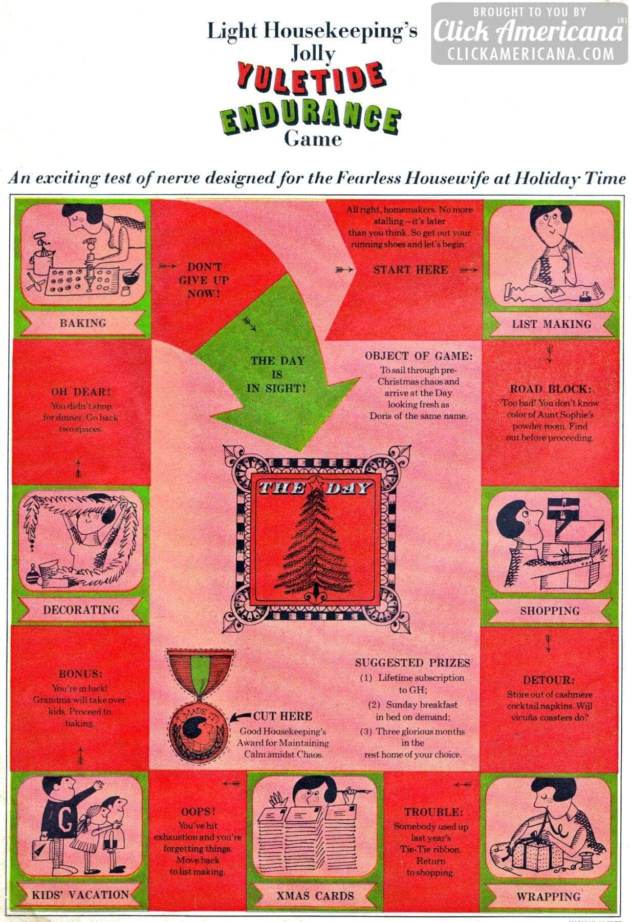 The Housewife's Yuletide Endurance Game (1964)