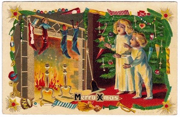 Edwardian-style Christmas celebrations