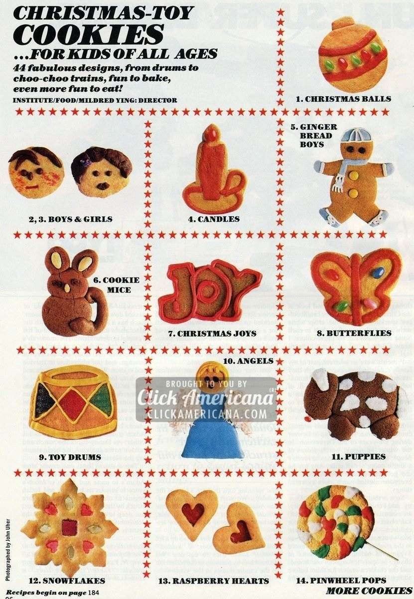 44 Christmas cookie decorating ideas for kids (1987)