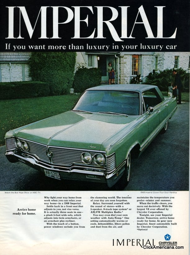 Chrysler Imperial Vintage Ad