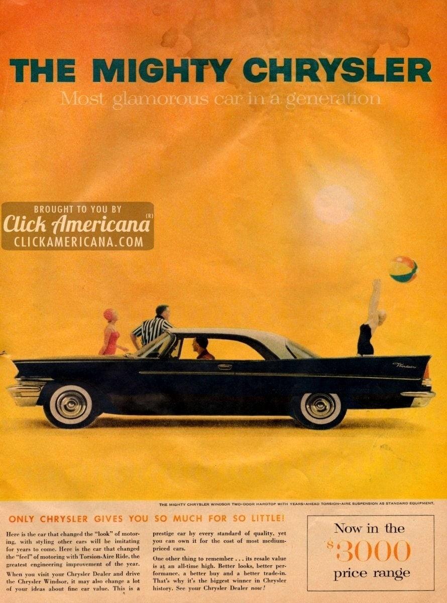 1957 chrysler windsor most glamorous car in a generation for 1957 chrysler windsor 2 door hardtop