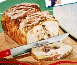 Cinnamon loaf recipe (1950)