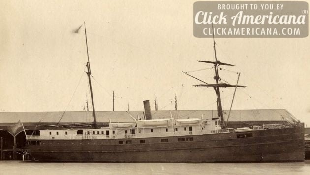 The City of Chester steamship sinks just inside the Golden Gate (1888)