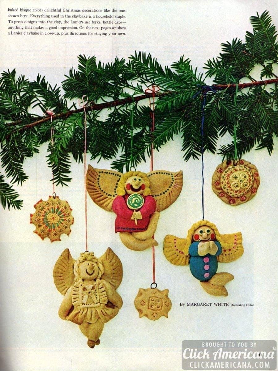 Stage a crafty Christmas claybake! (1964)