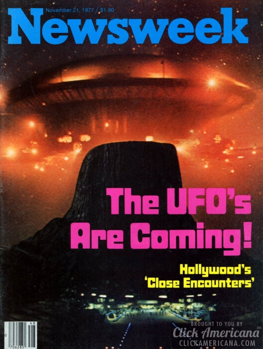 The aliens are coming: Close Encounters of the Third Kind (1977)