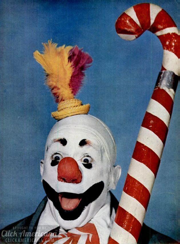 clown Paul Jung - c1949