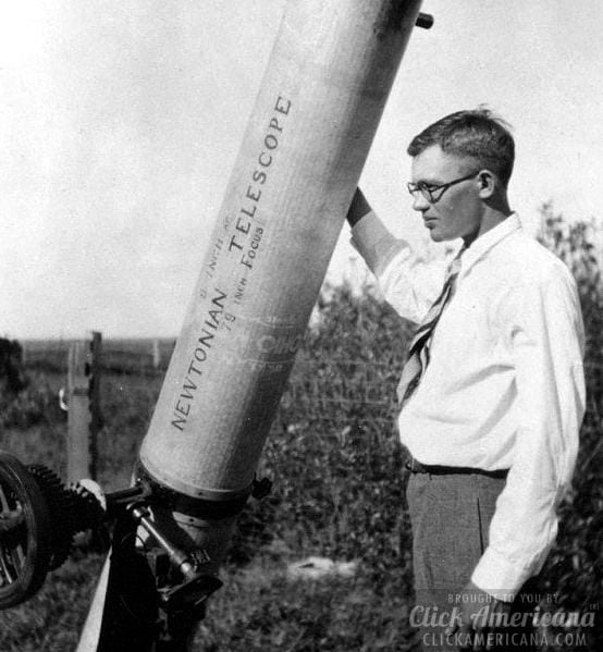 Meet Clyde Tombaugh, discoverer of Pluto (1930)