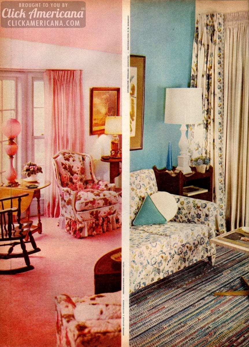 Home decor 1959 style Be generous with color Click