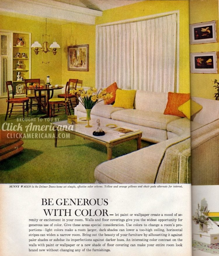 Be Generous With Color