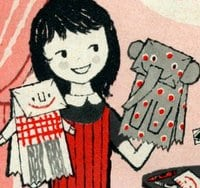 Quiet fun with paper bags & crayons (1958)