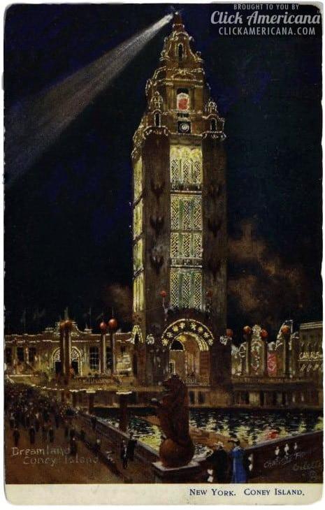 Coney Island's Dreamland Tower (1904-1911)