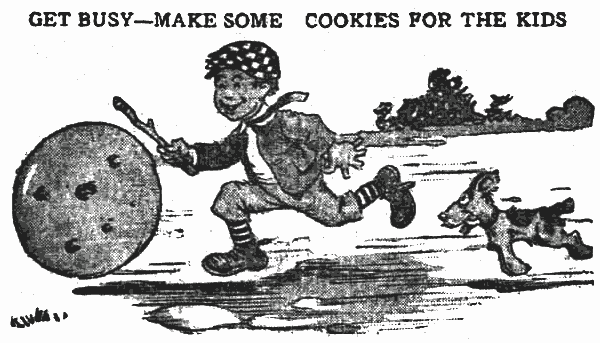 4 cookie recipes your kids will love (1913)