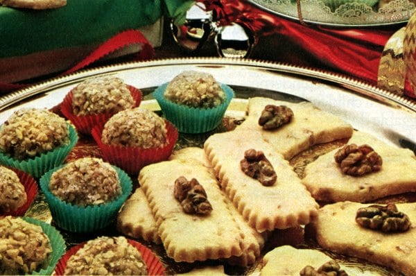 Caramel fudge balls & Shortbread cookies (1981)