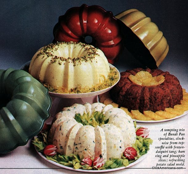 The versatile Bundt Pan (1974)
